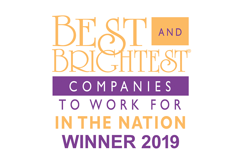 2019 National Best and Brightest Award