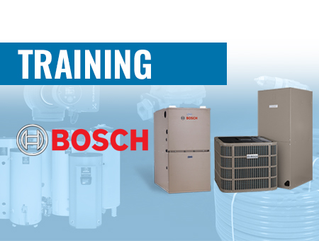 Spring 2020 Bosch HVAC Training